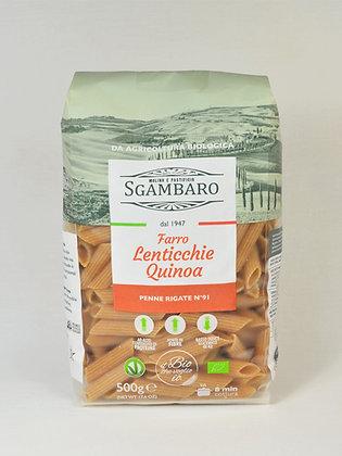 Sgambaro- rebrasti peresniki pira, leča, kvinoja 500 g