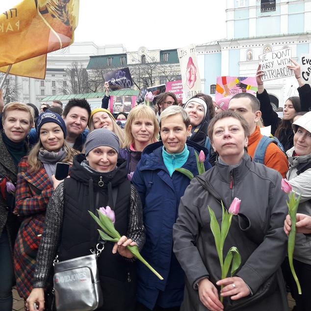 Марш Жінок 8 березня 2020