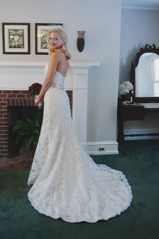 lori in bridal suite