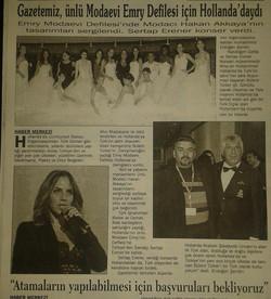 Turkse krant Kirklareli 01-01-2014