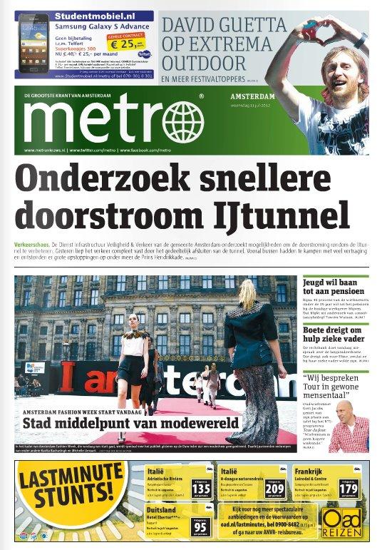 Metro juli 2012