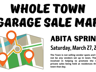 Whole Town Garage Sale Map