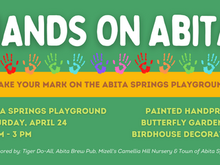 Hands ON Abita! Make your mark on the Abita playground