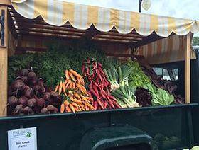 Farmer's Market Greens and Asparagus