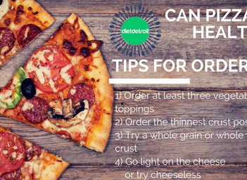 Can Pizza Be Healthy?