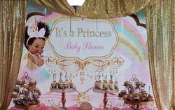Stone baby shower