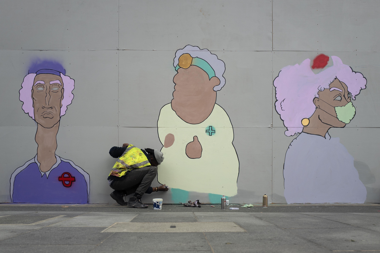Goodge Street Mural