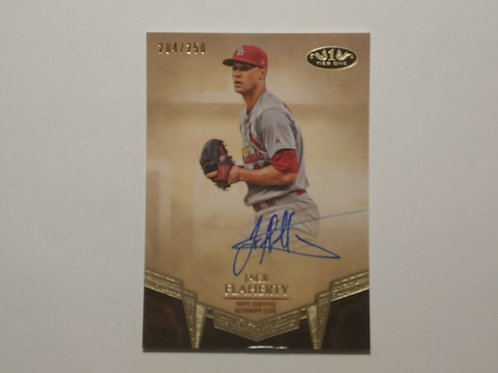 2019 Topps Tier One Jack Flaherty Autogaph