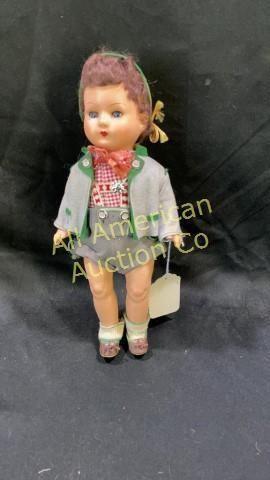 Vintage Gura Bavarian Boy doll, 13_
