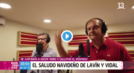 Tortura Navideña: Vidal y Lavín Cantando Juntos.