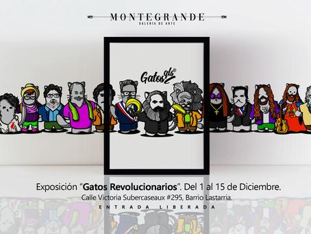 """Exposición """"Gatos Revolucionarios"""""""