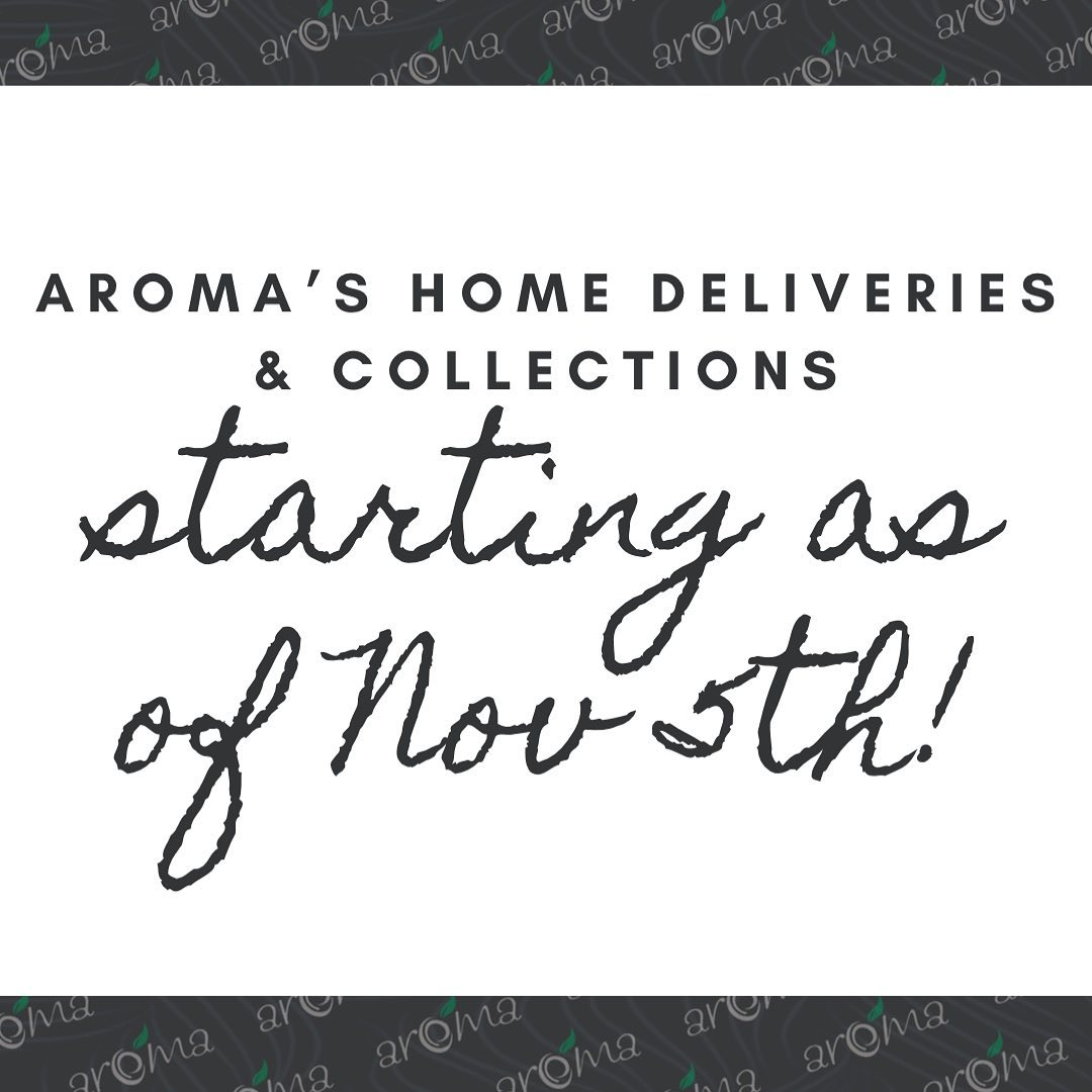 Deliveries are Back!