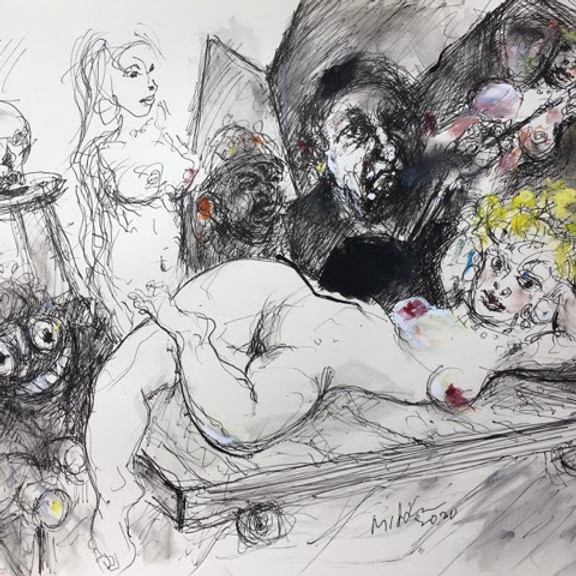 RAOUL MIDDLEMAN: DRAWING ON DREAMS