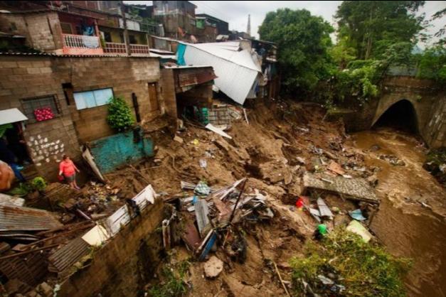 Tormenta Tropical Amanda, en El Salvador