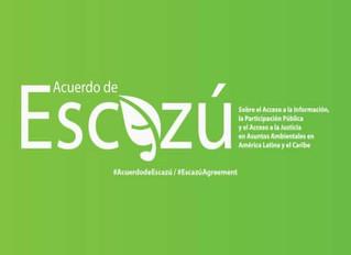 Desafíos de Costa Rica de cara al Acuerdo de Escazú