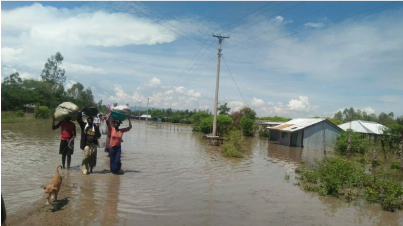 Inundaciones en el Este de África