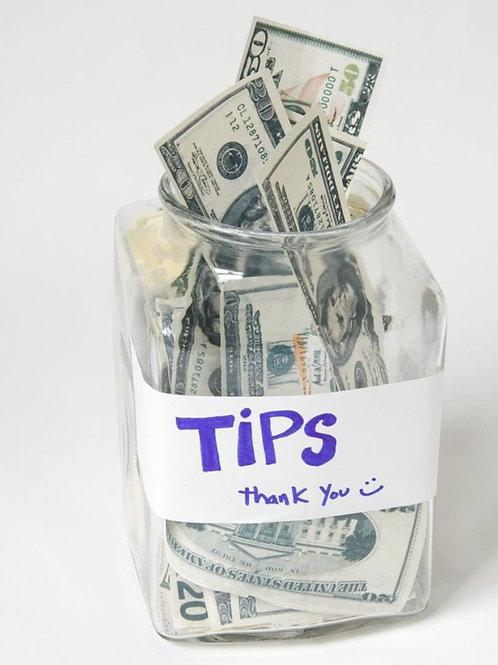 Virtual Tip Jar $1.00