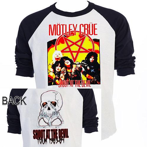 MOTLEY CRUE Shout at The Devil,ALT T-613Blk