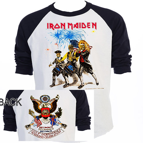 IRON MAIDEN,4th Of July,86' TOUR,Rare Art T-573