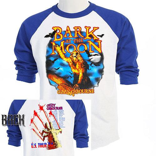 OZZY OSBORNE,Bark At The Moon TOUR Baseball T-465