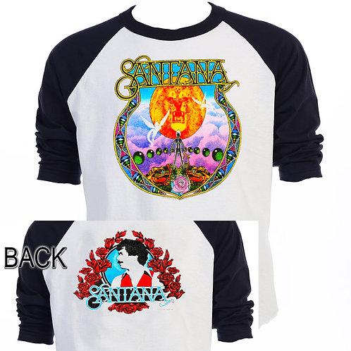 SANTANA,Carlos Santana 1979 TOUR Baseball T-667Blk