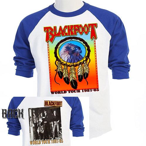 BLACKFOOT,Marauder Tour  Rick Medlocke  T-333