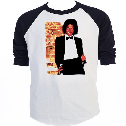 MICHAEL JACKSON,Off The Wall  T-Shirt,T-901Blk