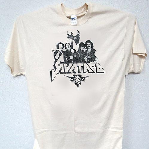 SAVATAGE,Vintage 1984 Rare Shirt, Sizes 3-5xl, T-Shirt T-1765Iv