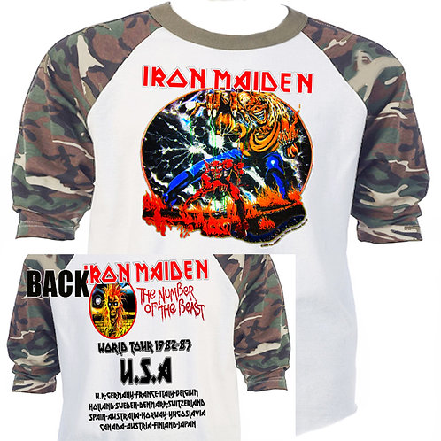 IRON MAIDEN,Classic Number Of The Beast  CAMO