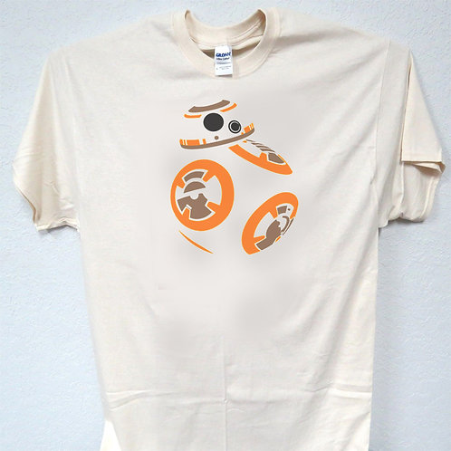 """STAR WARS,Inspired """"BB-8 Art Deco""""Vintage look Awesome T-Shirts Size's S-5XL,T-"""