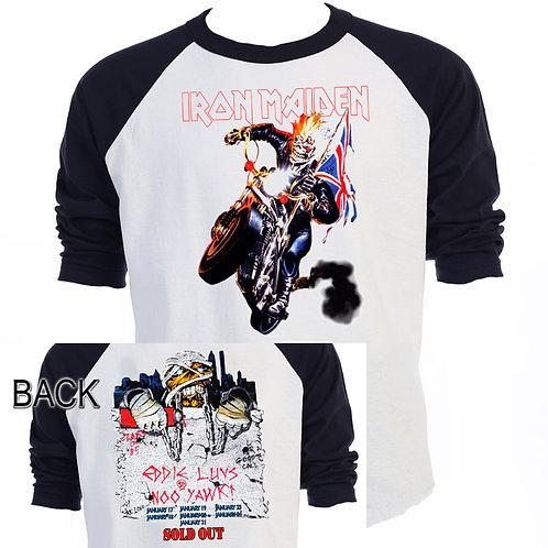 IRON MAIDEN,Eddy Loves NY,Motorcycle 1984 T-715