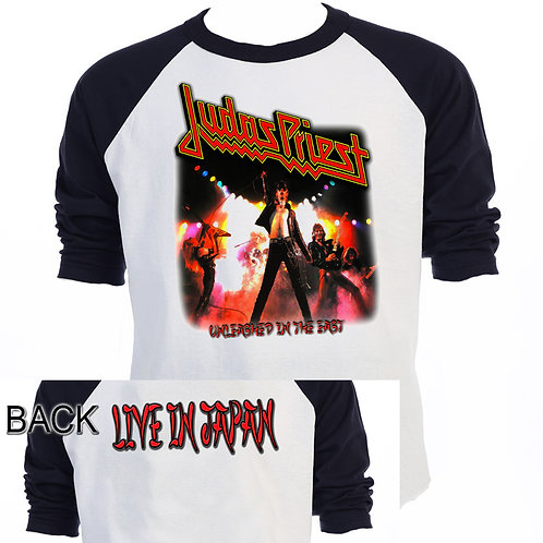 JUDAS PRIEST,Unleashed In The East Tour, T-628Blk