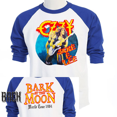 OZZY & JAKE E LEE, Bark at the Moon TOUR,T-783Blue