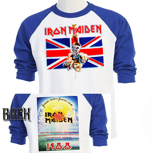 IRON MAIDEN,7th Son of a 7th Son 1988 TOUR