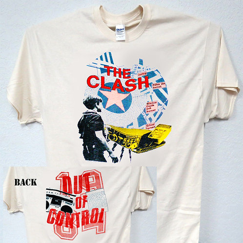 THE CLASH,1984 Out Of Control TOUR T-633Ivy