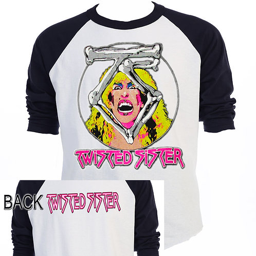 TWISTED SISTER,Classic TOUR Retro T-SHIRT