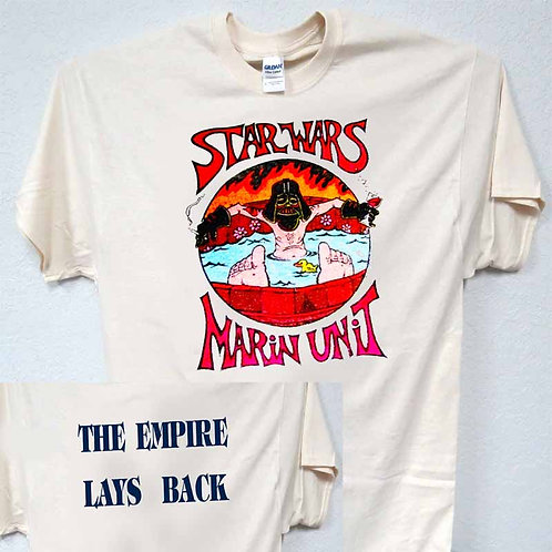 """STAR WARS,Marin Unit,""""Empire Lays Back"""" T-SHIRT,S,M,L,XL,2X,3X 4X,5X,TIvy-649"""