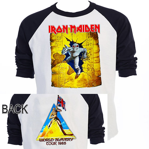 "IRON MAIDEN,""World Slavery Tour"",1985 T-681"