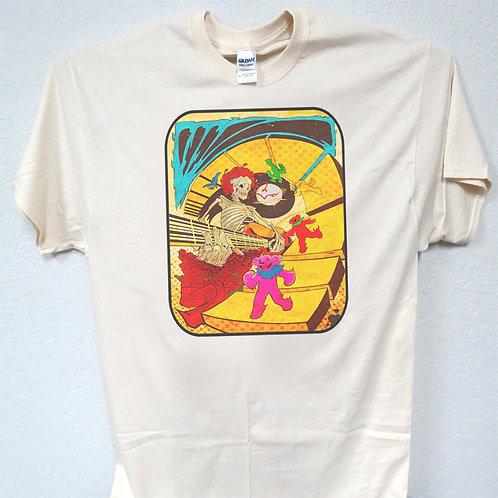 Greatful Dead Bears, Sizes 3-5xl, T-Shirt T-1593