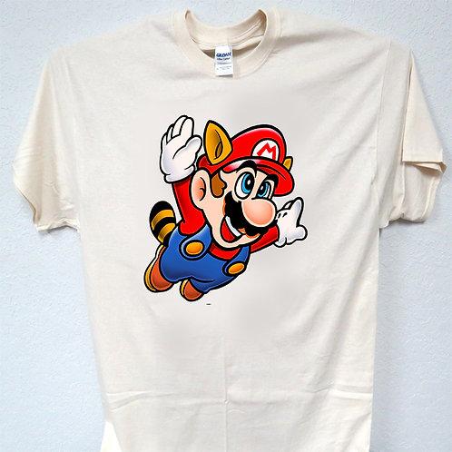 MARIO, Game, inspired Logo T-SHIRT,S-5X,T-1168Ivy