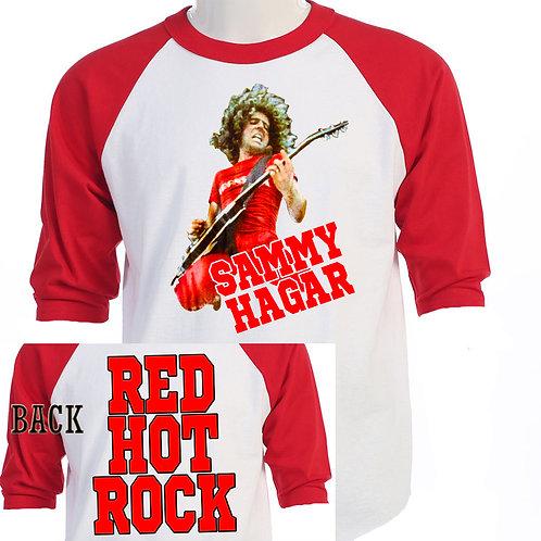 """SAMMY HAGAR,""""Red Hot Rock"""" TOUR Baseball"""