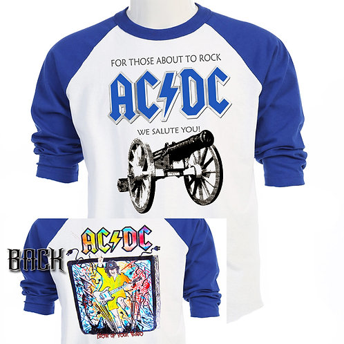 "AC/DC,""For Those About To Rock TOUR,T-708Blue"