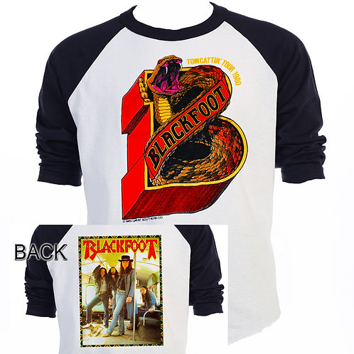 "BLACKFOOT,""Tomcattin Tour"" Rick Medlocke T-331"