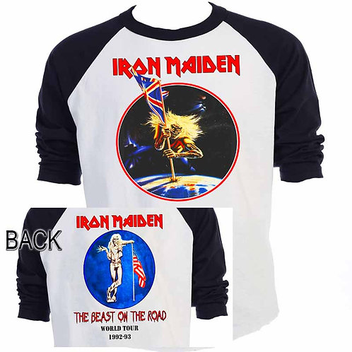 IRON MAIDEN,The Beast on the Road 82-83 TOUR T-653