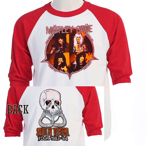 MOTLEY CRUE,Shout at The Devil Tour RETRO T-490