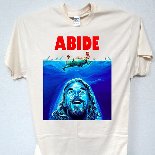 ABIDE, The Big Labowski, Cool Ivory, T-SHIRT,Size: S-5XL T-1223