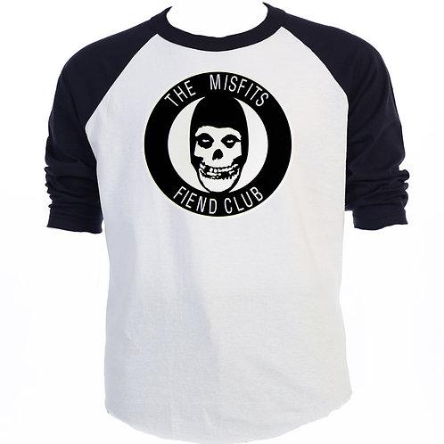 "THE MISFITS, ""Fiend Club"" LOGO, Vintage Cool, Baseball & T-1-Shirts, S-5XLT-1278"