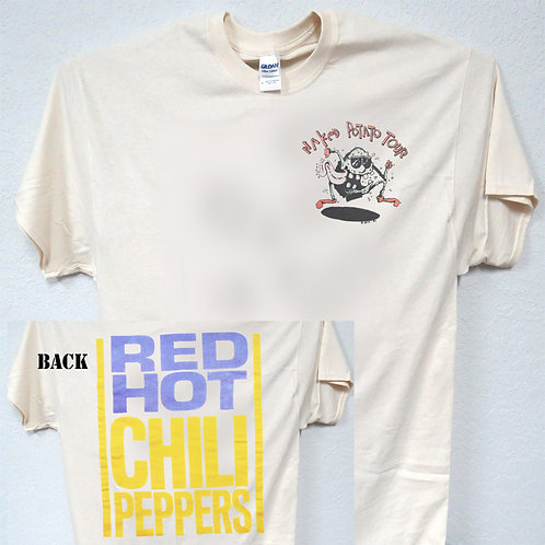 """RED HOT CHILI PEPPERS Inspired, """"Naked Potato Tour, T-SHIRT,S-5XL,T-1230Ivy,"""