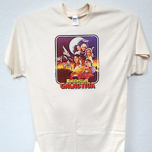 BATTLE STAR GALACTICA, Old School Funny, Cool, T-Shirt Ivy Sizes: S-5xl T-1505
