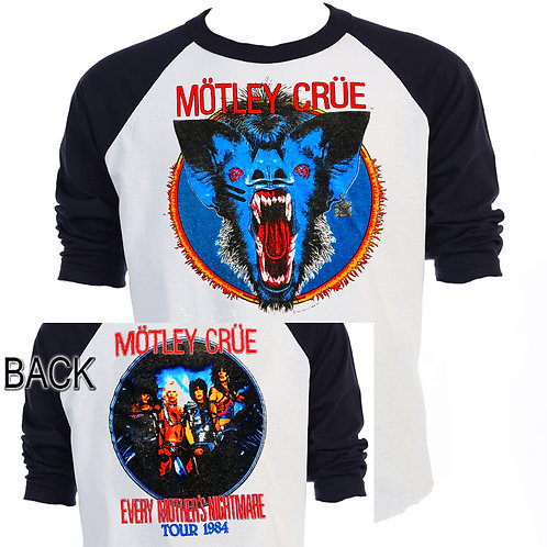 MOTLEY CRUE,Every Mothers Nightmare 84 TOUR T-751